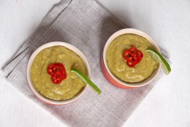 Zupa bananowa z curry