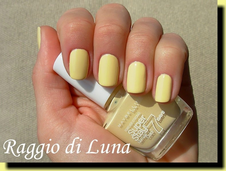 Raggio Di Luna Nails Maybelline Gel Nail Color N 22
