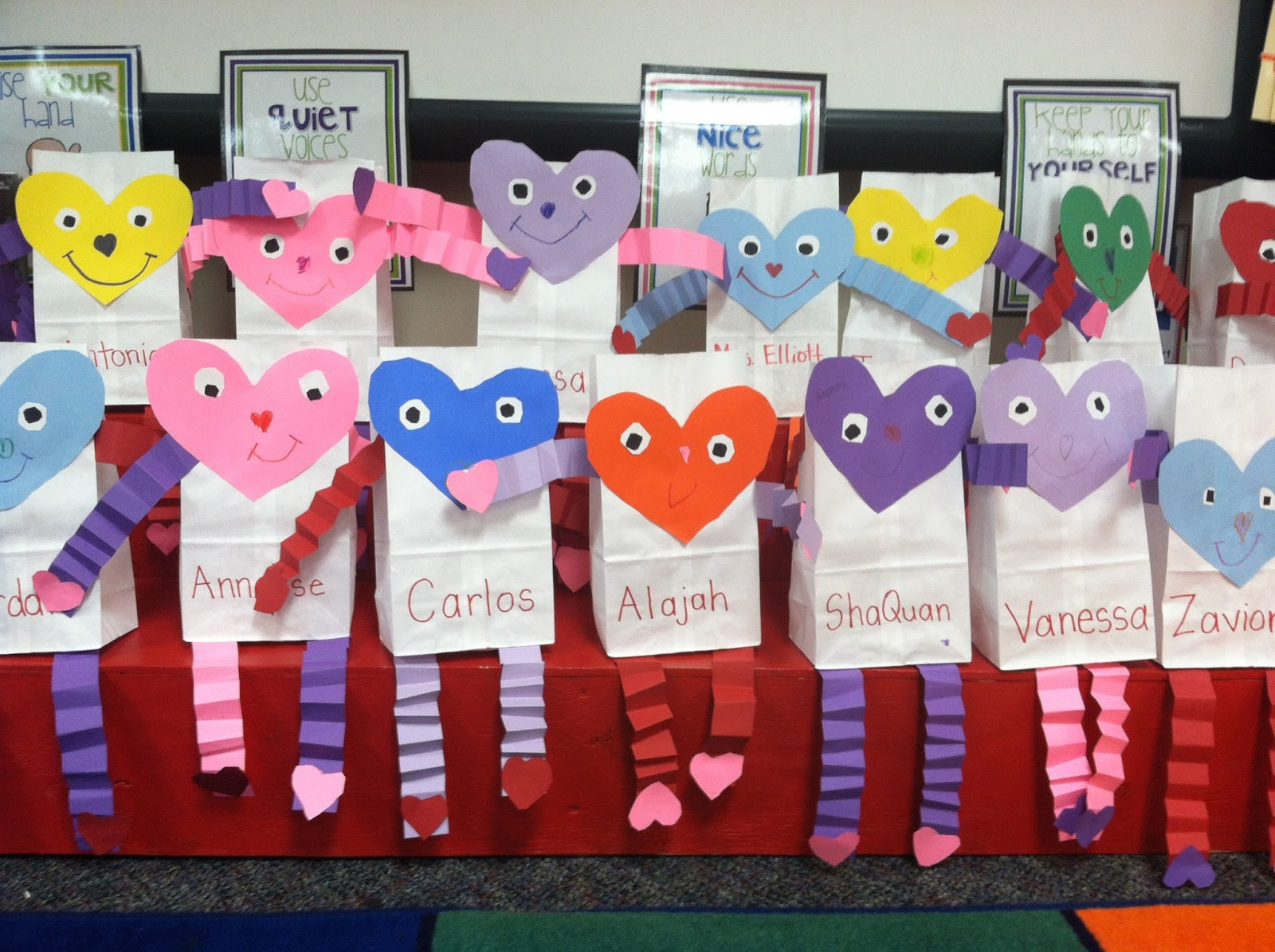 Jen S Kinder Kids Gearing Up For V Day