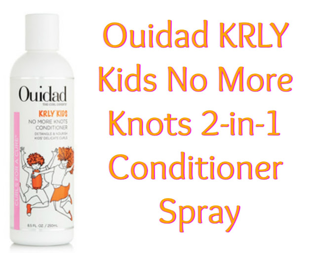 Click here to buy Ouidad KRLY Kids No More Knots 2-in-1 Conditioner to tame those tangles!
