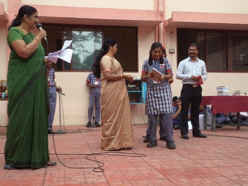 Reading Competition Prize Distribution