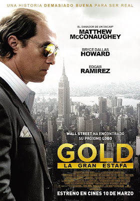 Póster en español de GOLD: la gran estafa