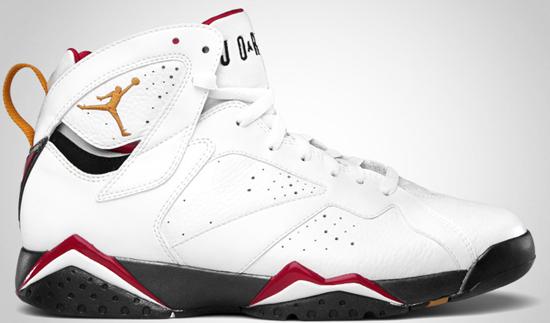 los angeles ece39 1dcc3 Air Jordan 7 Retro (07 01 2012) 304775-135 White Metallic Gold-Obsidian-True  Red