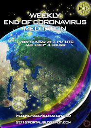 End of Coronavirus Meditation every Sunday at 3 PM UTC and every 4 hours