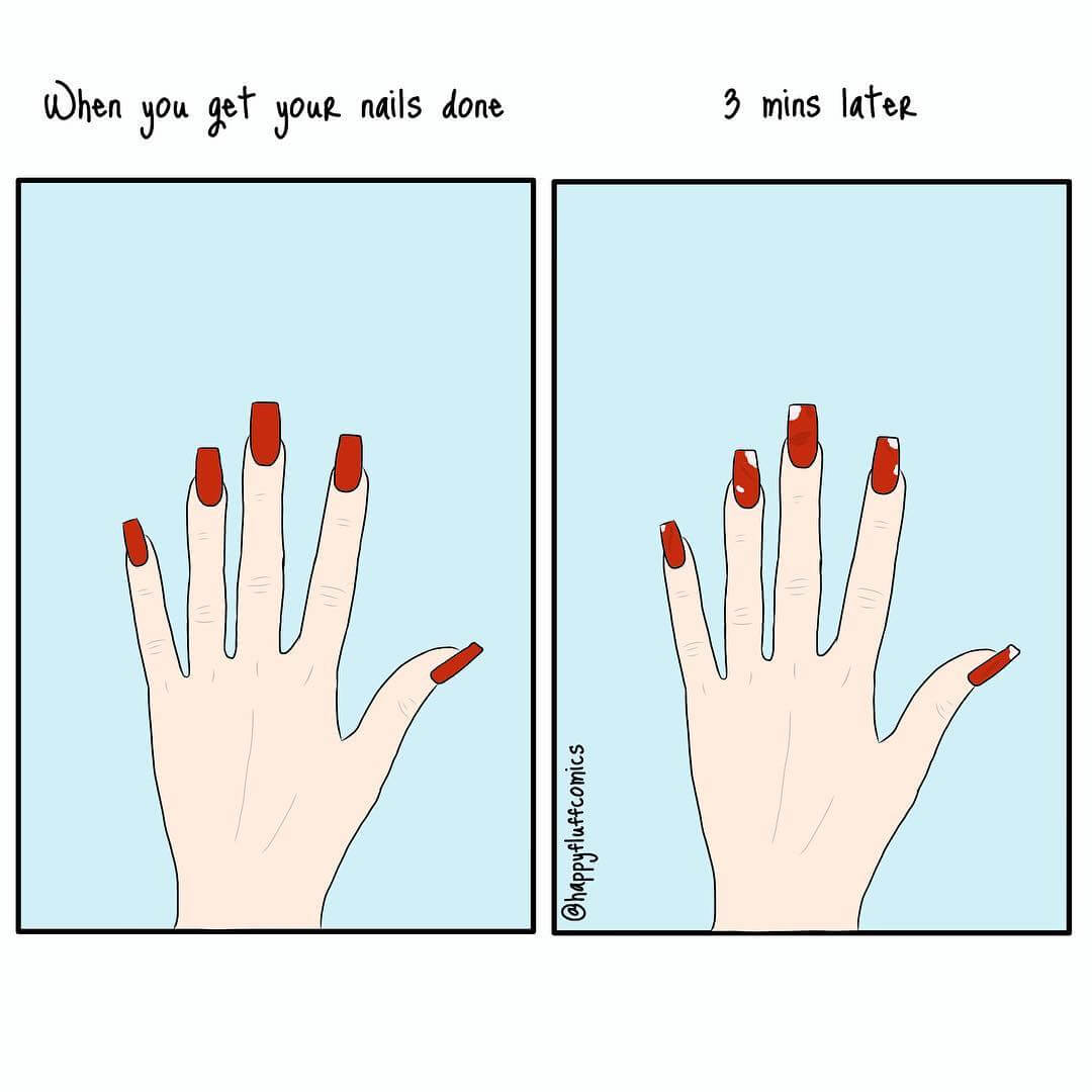 35 Hilarious Illustrations All Women Will Relate To