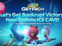 LINE Let's Get Rich Mod v1.8.0 Apk Uang dan Mutiara Tanpa Batas