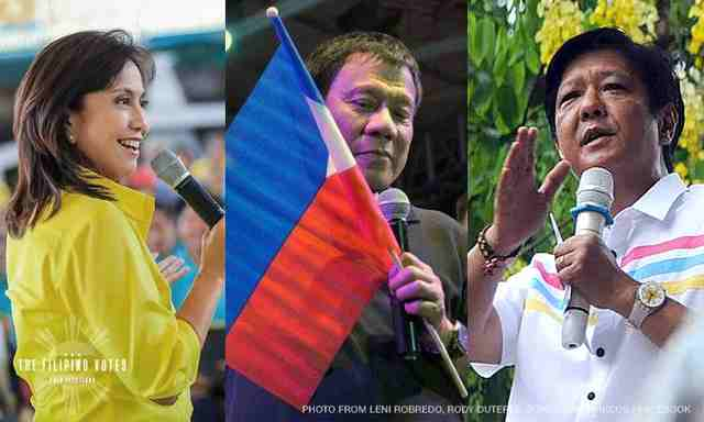 Who's the VP that fits Duterte best - Marcos or Robredo?