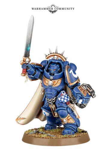 Primaris gravis-armour captain warhammer 40k