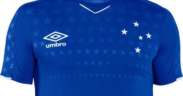 17040a5e94047 Umbro divulga a nova camisa titular do Cruzeiro - Show de Camisas