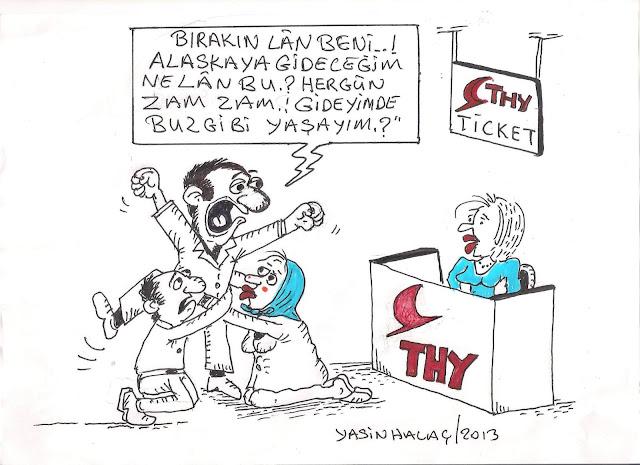 zam karikatürü