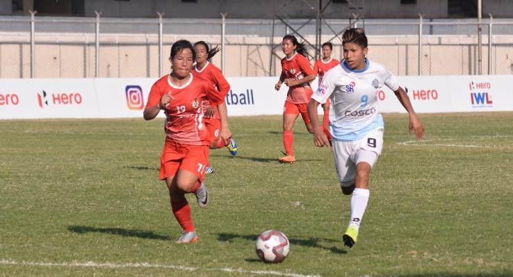 Sabitra Bhandari Hat-trick Inspire Setu FC win against Manipur police sports