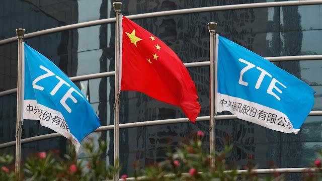ZTE China flag