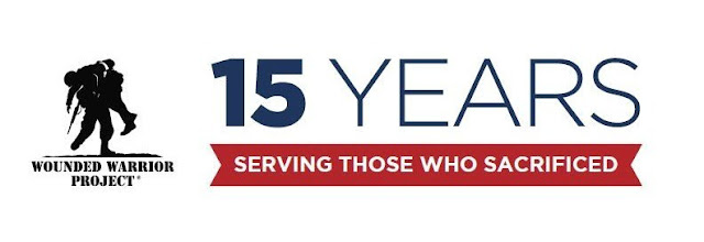 Wounded Warrior Project  15 Years Logo