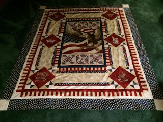 Flight of the Eagle Quilt of Valor