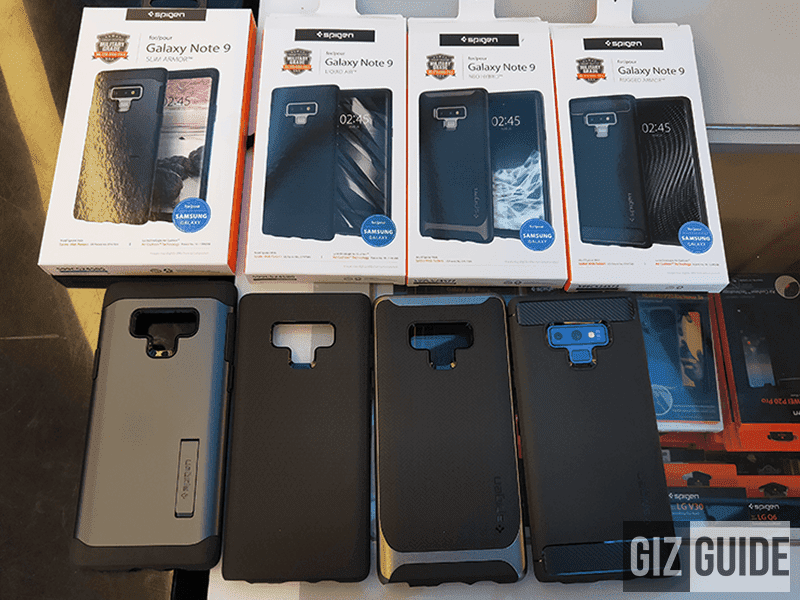Spigen cases for the Samsung Galaxy Note9 are now available nationwide!