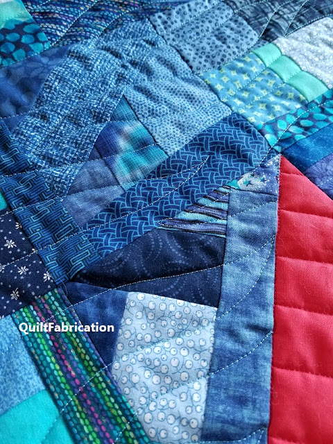 Regatta freehand quilting sneak peek