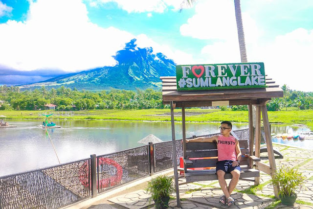 how to go to sumlang lake albay