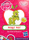 My Little Pony Wave 14B Merry May Blind Bag Card