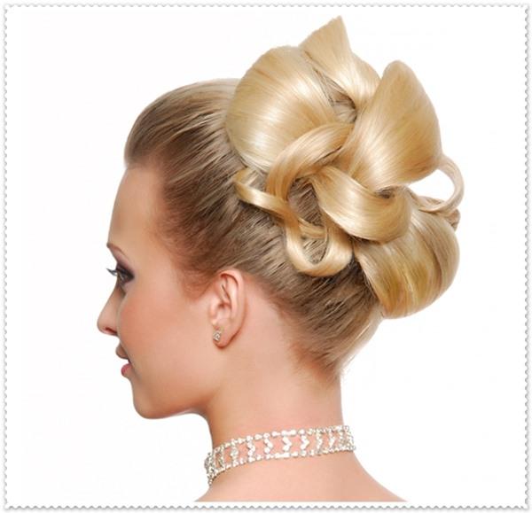 Hochsteckfrisuren Für Blondes Haare