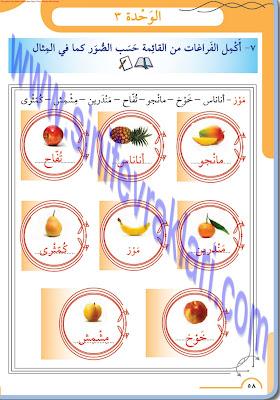 8. Sınıf Arapça Meb Yayınları Ders Kitabı Cevapları Sayfa 58