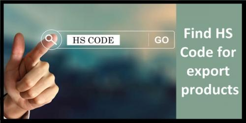process to find HS Codes