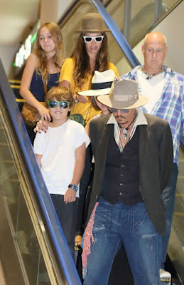 Jack - seen here in 2013 with his famous father - is Depp's youngest child