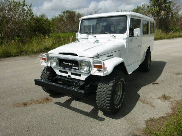 Rare 1984 Toyota Land Cruiser BJ45