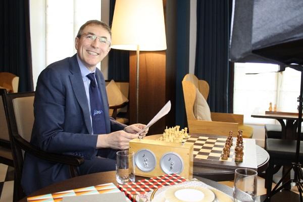 Philippe Dornbusch, Directeur du site Échecs & Stratégie - Photo © Chess & Strategy