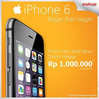 Awal Tahun Promo iPhone 6 Diskon Hingga Rp 1 Juta