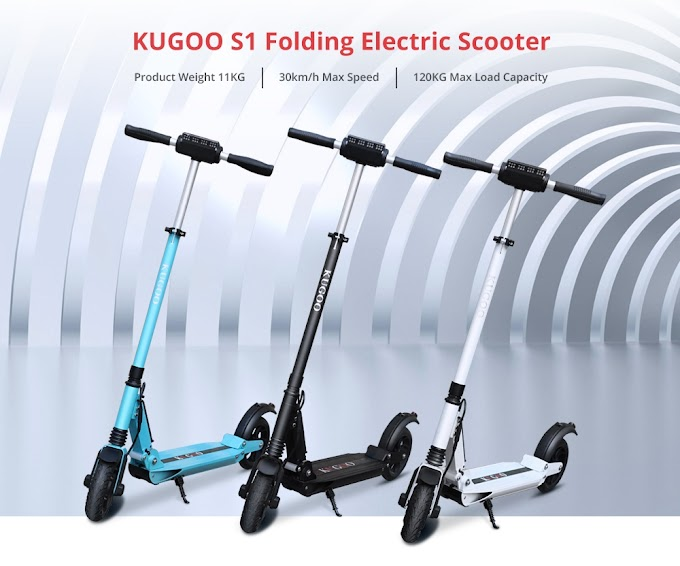 Get upto 50% off on Kugoo S1 Folding Electric Scooter