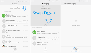 Private message option in Xiaomi mobiles- Hidden Message in MIUI 7