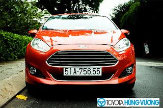 So sánh Toyota Vios với Ford Fiesta 6