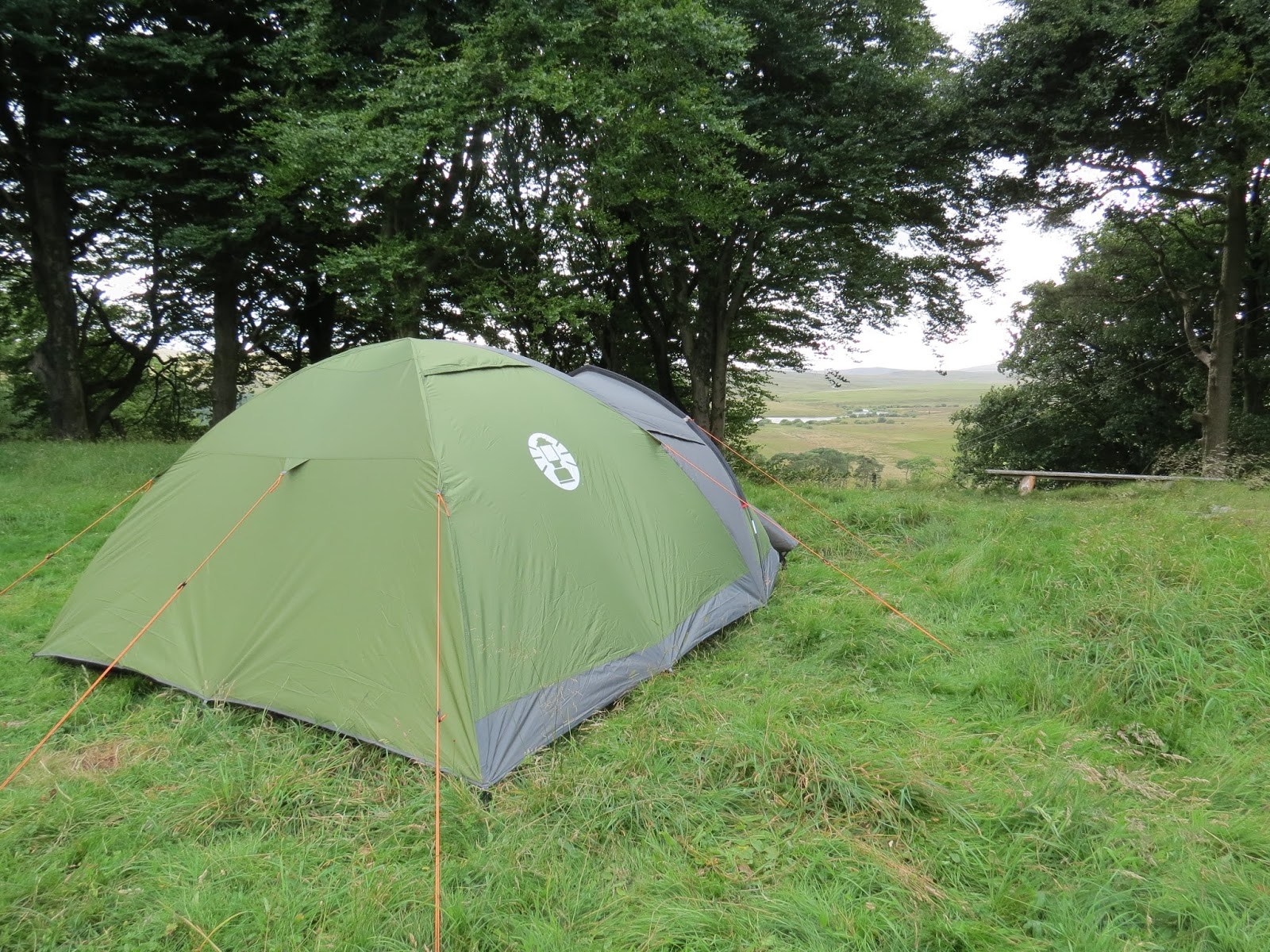 We have recently returned from three nights away at Hafod Hall in North Wales using our tent for only the second time and can safely say it is waterproof!! & Camping Adventures: Coleman Darwin 4 Plus Review