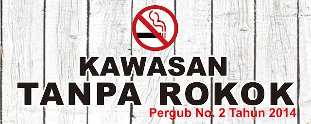 Desain Banner Kawasan Tanpa Rokok