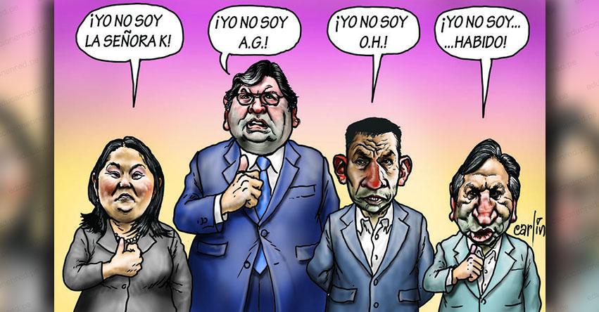 Carlincaturas Lunes 30 Julio 2018 - La República