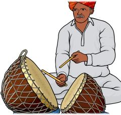 ナガラ nagara インドの太鼓