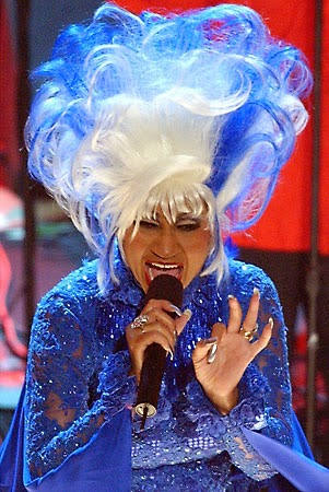 Celia Cruz  (the Queen of Salsa) In Hell