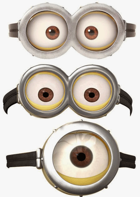 minion mask template - free coloring pages of minion masks
