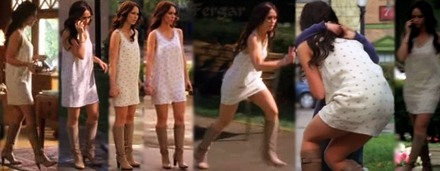 Jennifer Love Hewitt Video Minivestido Con Botas