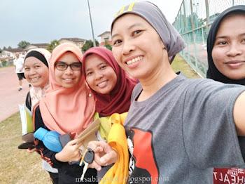 Persediaan Team Netball SAINS Ke Sukan Bekalan Air Se-Malaysia 2018