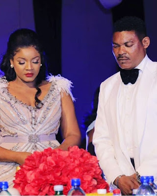 Nigerian actress Omotola Ekeinde celebrates her husband as he turns 50 (Photos)