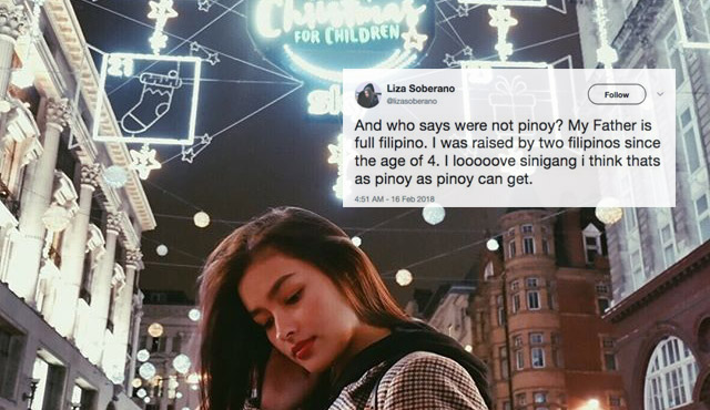 Liza Soberano Responds to Bagani's Colorism Controversy