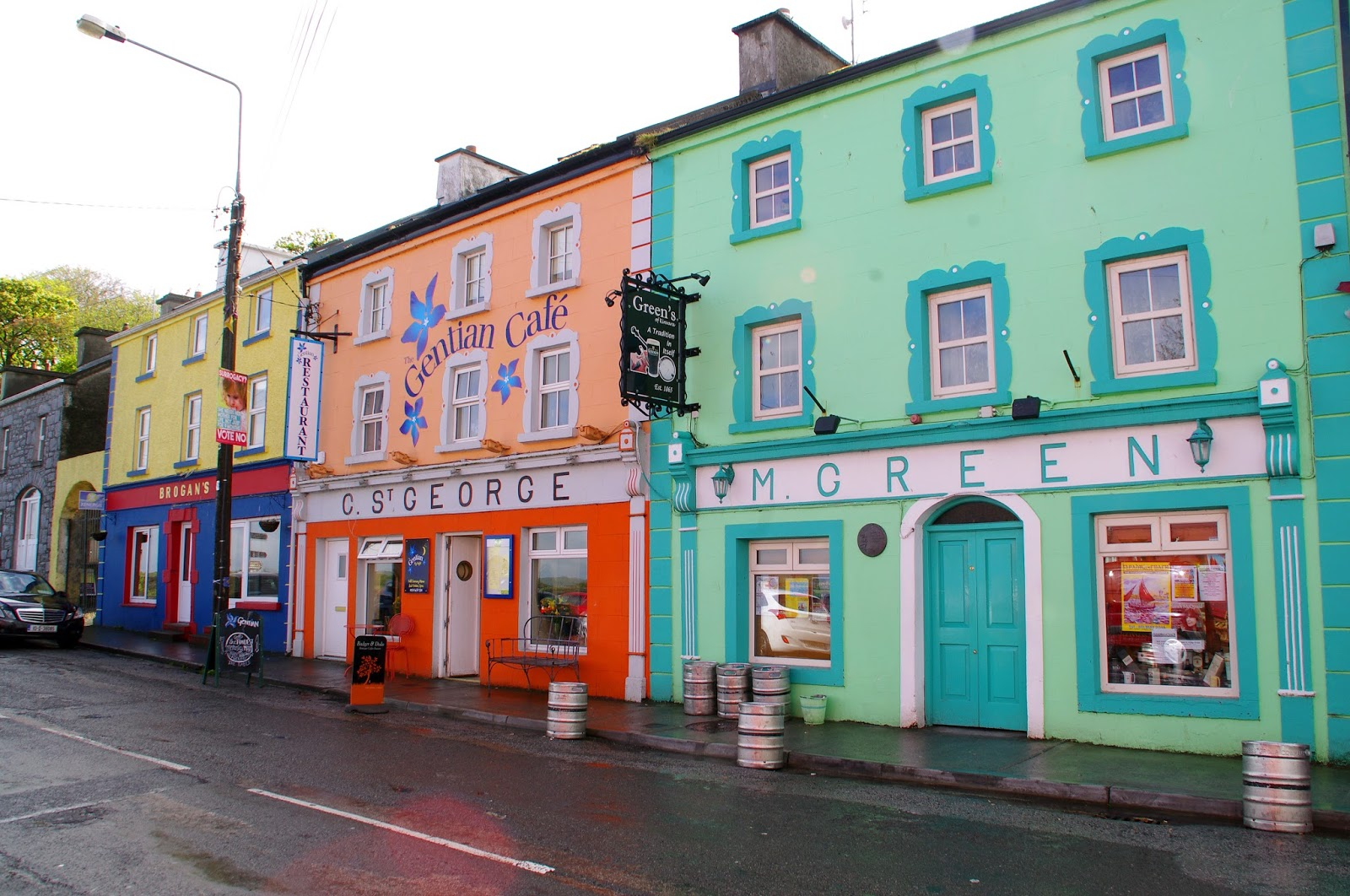Kinvarra Galway Ireland Colourful Houses