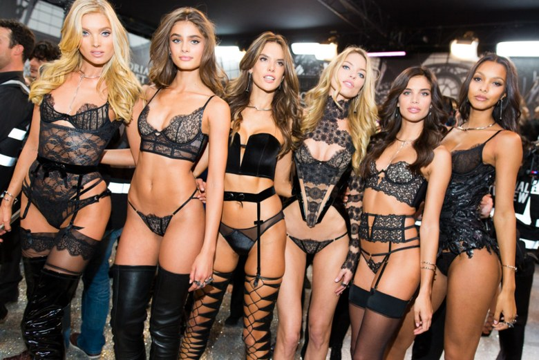 How the Angels of Victoria's Secret  Celebrated  Valentine's Day