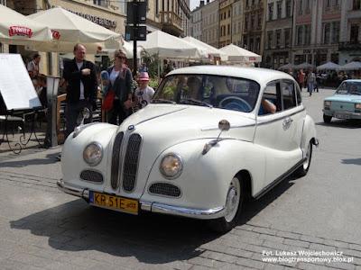 BMW 501, rajd Krak 2013