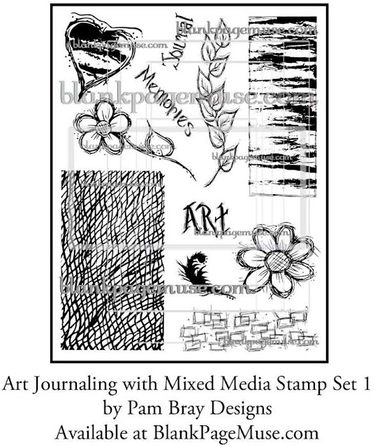 http://blankpagemuse.com/art-journaling-mixed-media-stamps-set-1-pam-bray-designs-pb006/