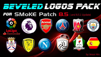 PES 2016 Packs Logos For Smoke Patch 8.5.1 by Jesus