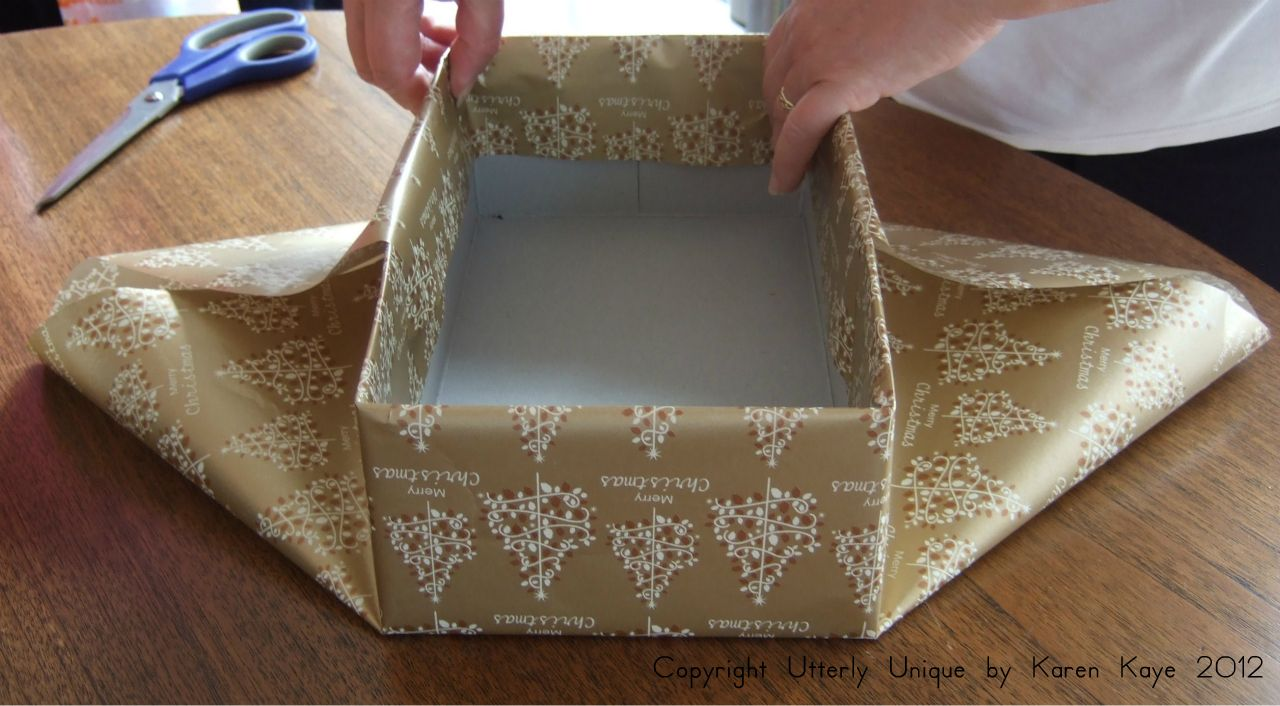 How To Make A Box Lid For A Cake