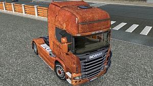Rusted Scania R skin