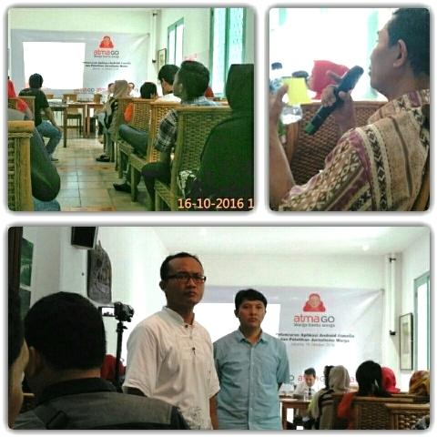 Pelatihan Citizen Jurnalism dan Launching Atmago App